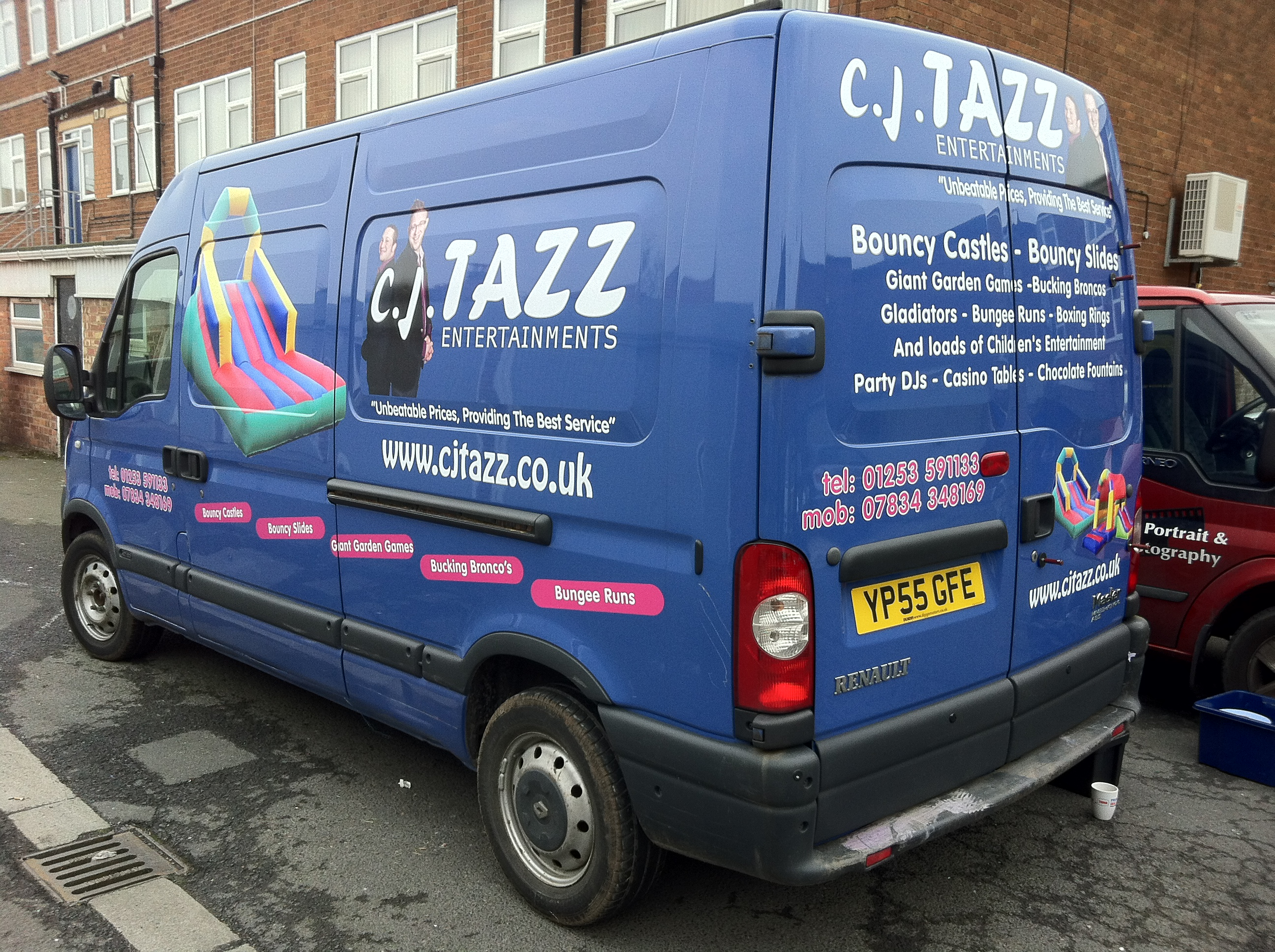 a219768fc7df83 Van Graphics for cj TAZZ Entertainments · Gallery