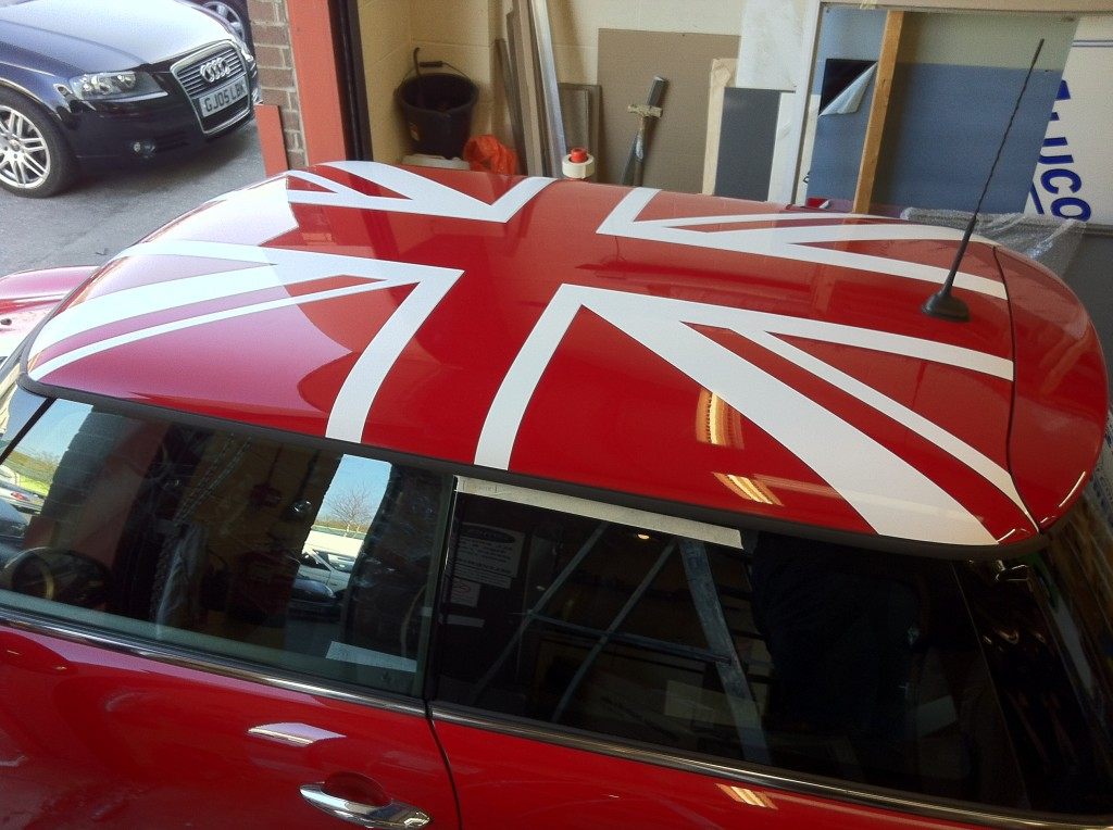 Union Jack Vehicle Graphics Fylde Signs Amp Graphics