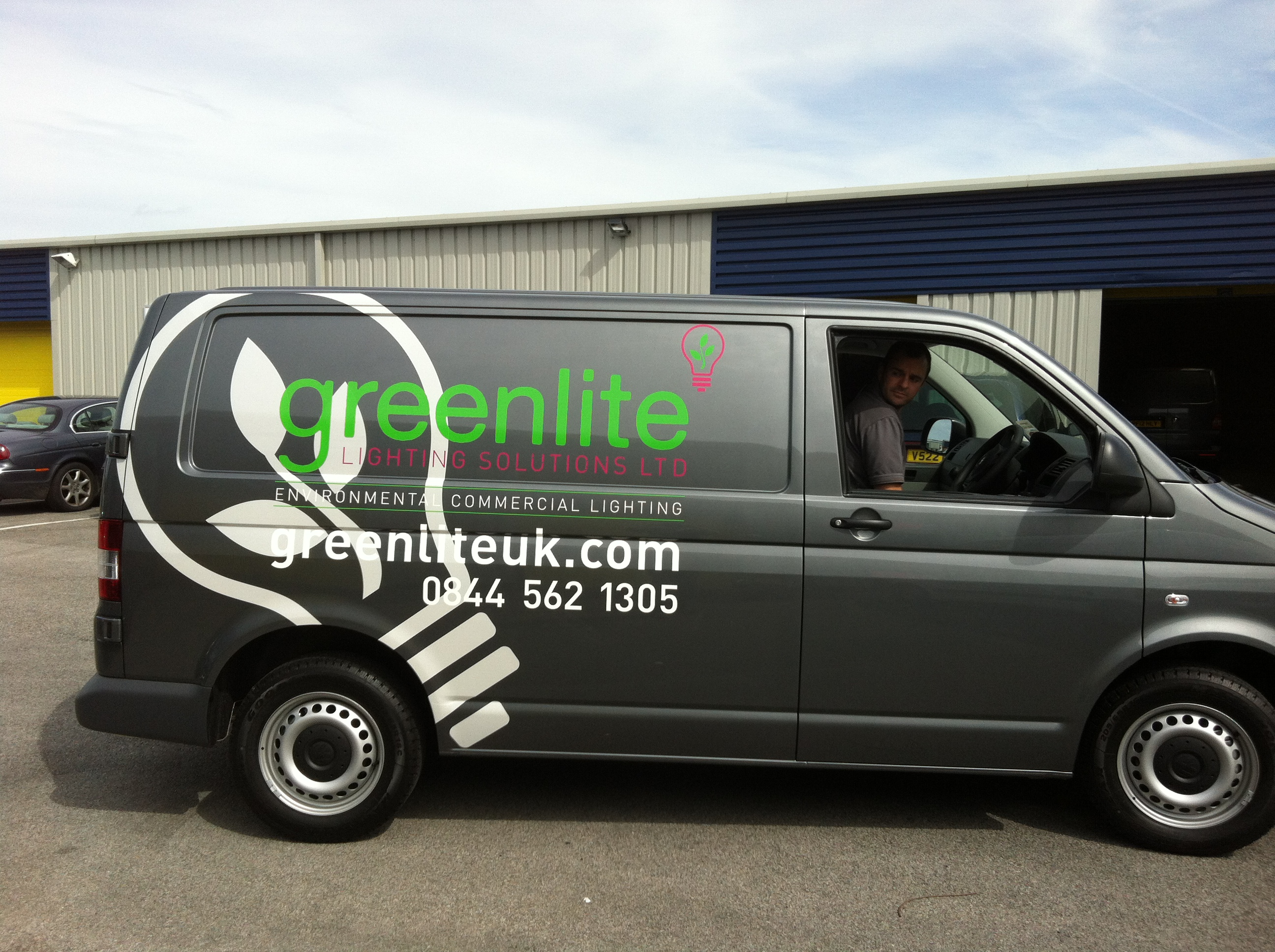 f3555f1757be6f Vehicle Graphics – Fleet of 16 in total for Greenlite Lighting Solutions ·  Gallery